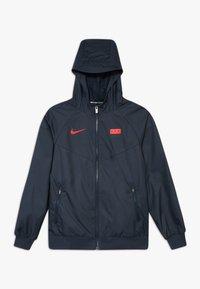 Nike Performance - FRANKREICH - Treningsjakke - dark obsidian/university red - 0