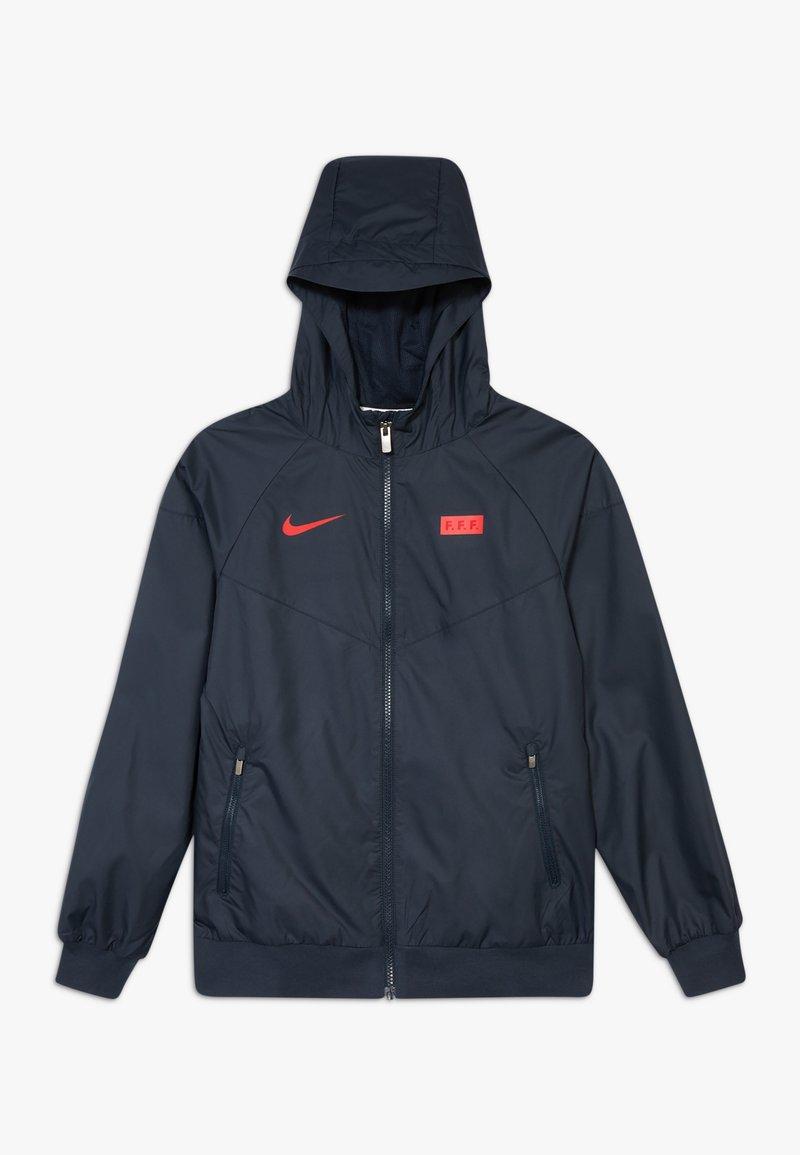 Nike Performance - FRANKREICH - Treningsjakke - dark obsidian/university red
