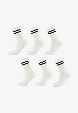 6 pack - Socks - white