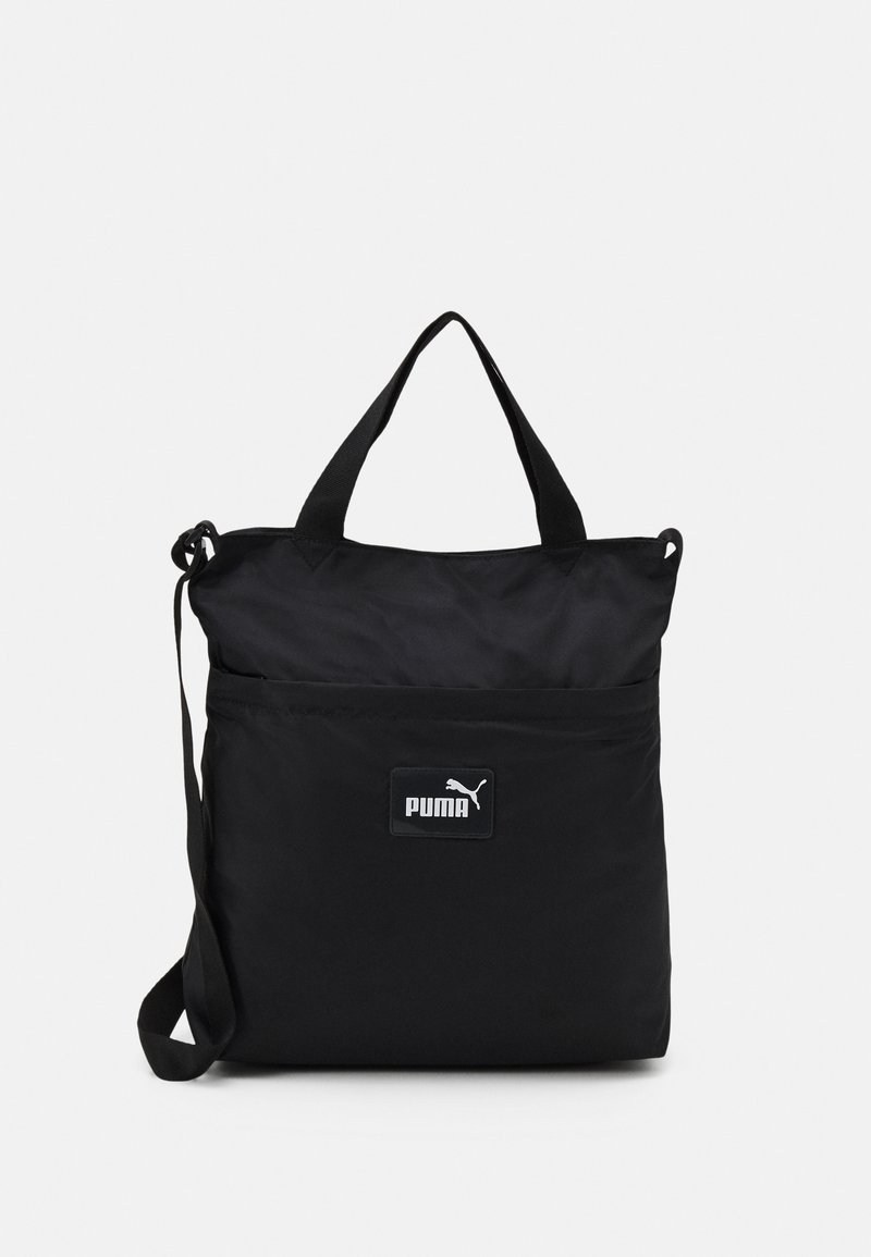Puma - CORE POP SHOPPER - Tote bag - black