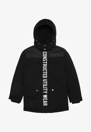 NKMMAUGUST JACKET - Winter coat - black