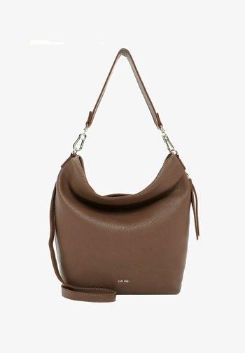 BEUTEL KETTY - Handbag - darktaupe