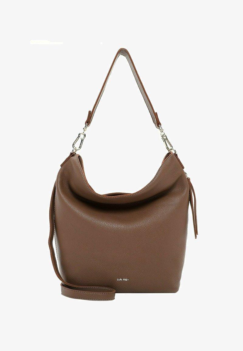 SURI FREY - BEUTEL KETTY - Handbag - darktaupe