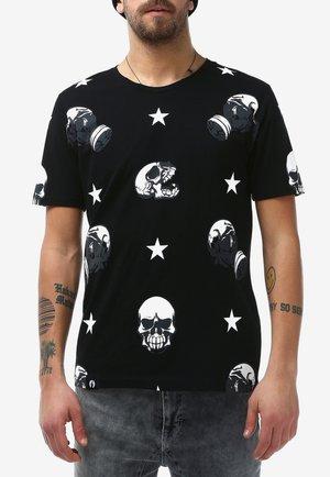 SKULL - T-shirt print - black