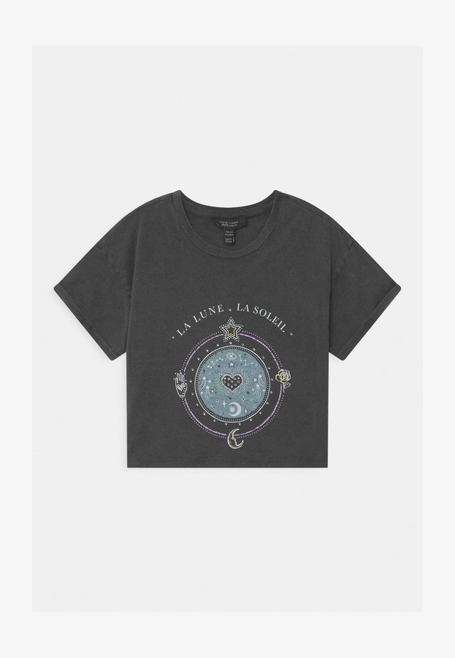 LA LUNE COSMIC GRAPHIC - T-shirts med print - dark grey