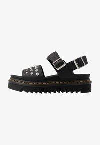 Dr. Martens - VOSS STUD - Platform sandals - black - 1