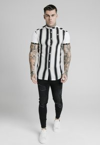 SIKSILK - Shirt - black/white - 0