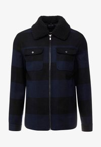 Only & Sons - ONSROSS CHECK SHORT JACKET - Tunn jacka - estate blue/black - 3