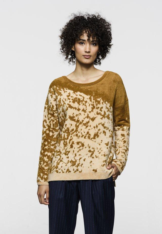 AIKO BLUR - Pullover - gold