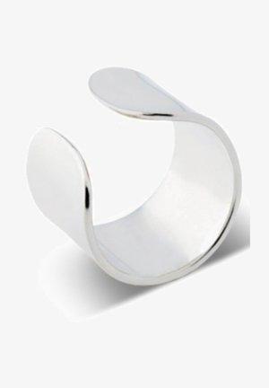 BOLD FLAT EAR CUFF - Oorbellen - silver