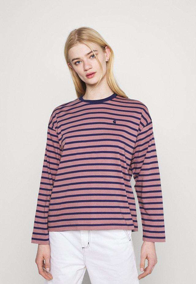 ROBIE  - T-shirt à manches longues - malaga/space