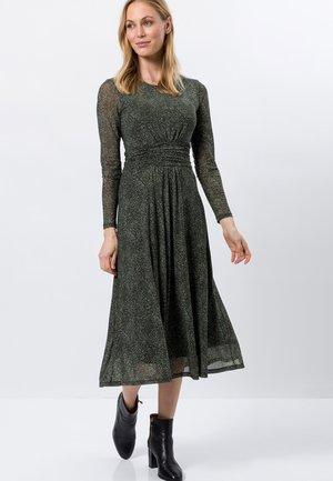 Korte jurk - olive green