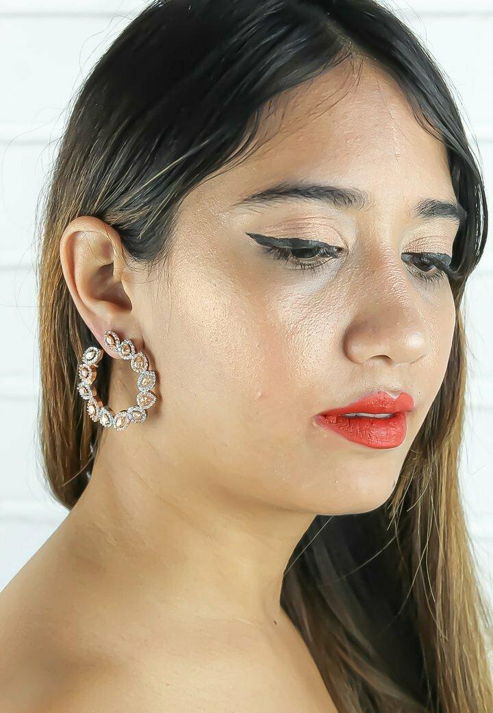 Bombay Sunset - Earrings - beige