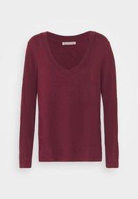 Anna Field - Long sleeved top - dark red - 4
