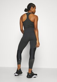 Sweaty Betty - POWER SCULPT COLOUR BLOCK WORKOUT LEGGINGS - Leggings - slate grey - 2