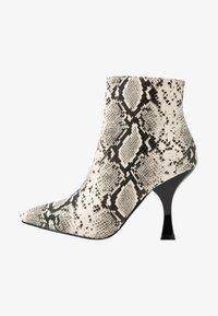 TILLY - Kotníková obuv na vysokém podpatku - beige