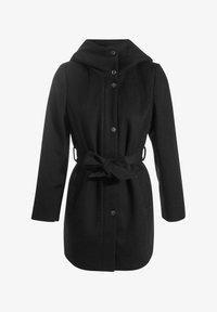 Cache Cache - MIT GÜRTEL - Short coat - noir - 4