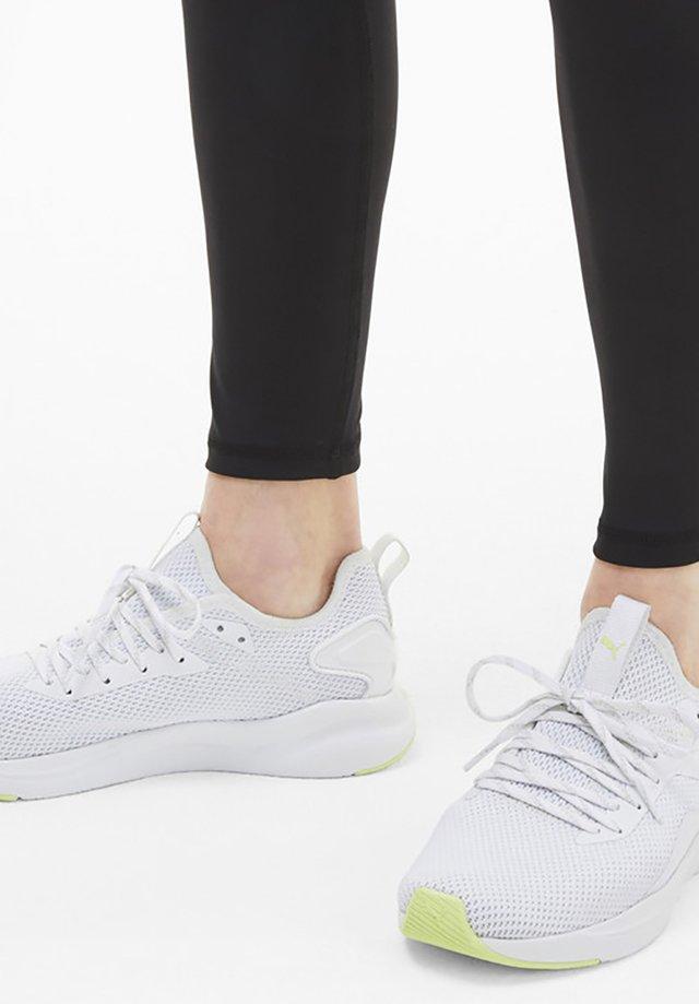 Stabiliteit hardloopschoenen - white/fizzy yellow