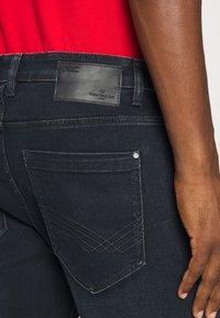 TOM TAILOR - JOSH - Straight leg jeans - dark stone blue - 5