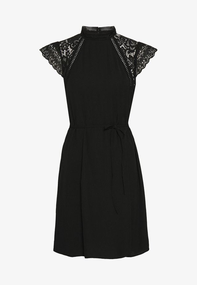 VMPOVLA CAP SLEEVE SHORT WVN - Sukienka letnia - black