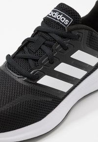 adidas Performance - RUNFALCON UNISEX - Neutral running shoes - core black/footwear white - 2