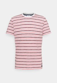 TOM TAILOR - STRIPED - T-shirt con stampa - powerful red - 5