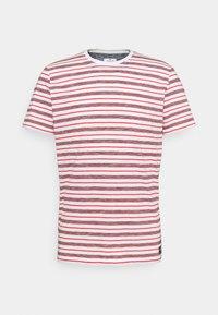STRIPED - Print T-shirt - powerful red