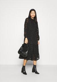 Cream - CRJELENA DRESS 2-IN-1 - Shirt dress - pitch black - 1