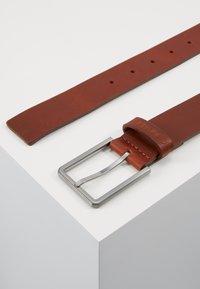 Calvin Klein - ESSENTIAL BELT - Pásek - brown - 3