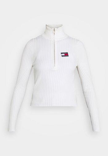 HALF ZIP THRU - Pullover - snow white