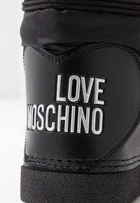 Love Moschino - KUSS - Winter boots - black - 2