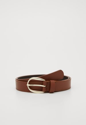 LEATHER - Bælter - cognac