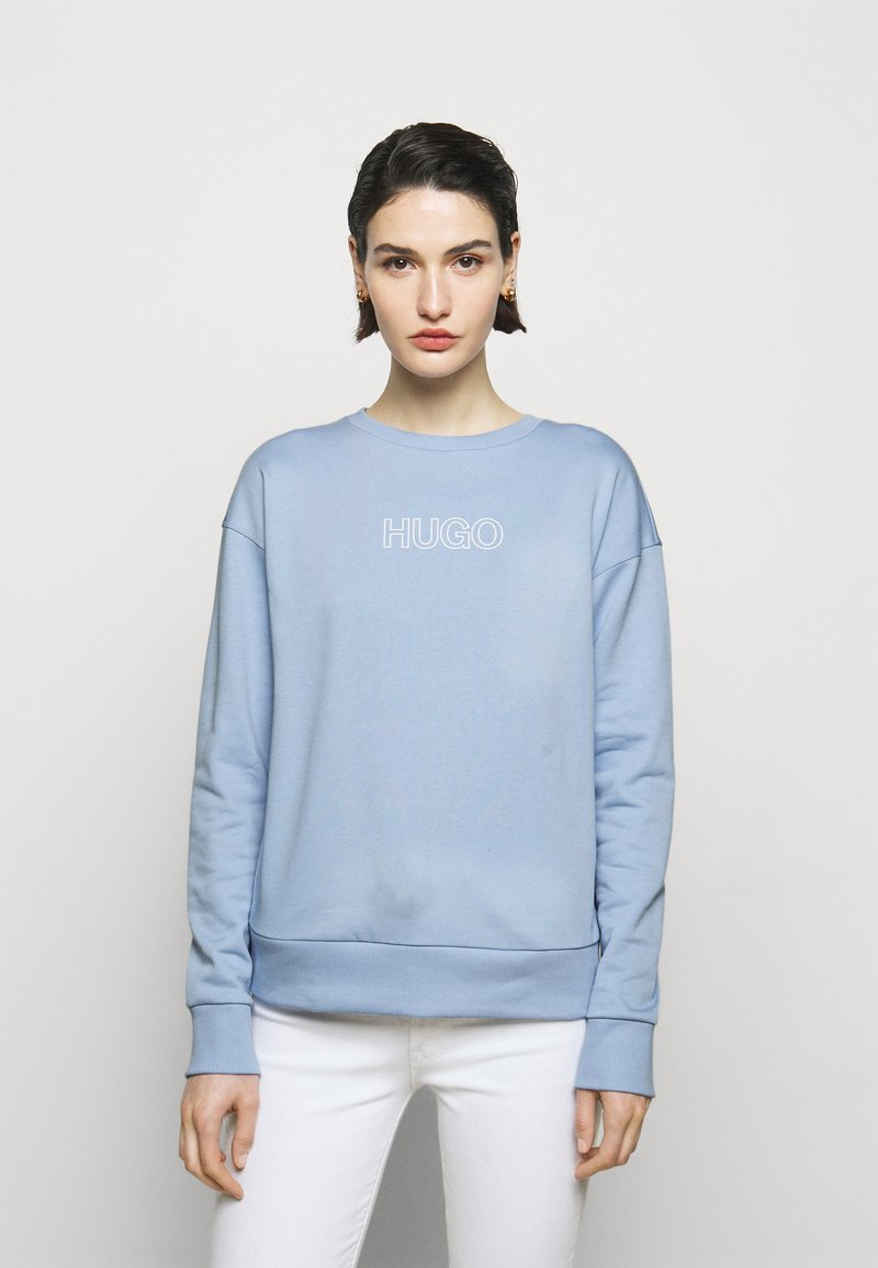 HUGO - NAKIRA - Sweatshirt - light pastel blue