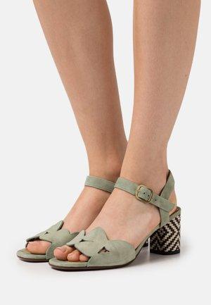 LORAN - Sandals - salvia/mei