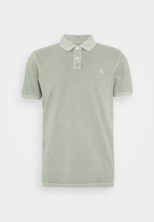 SHORT SLEEVE BUTTON PLACKET - Polo shirt - shadow