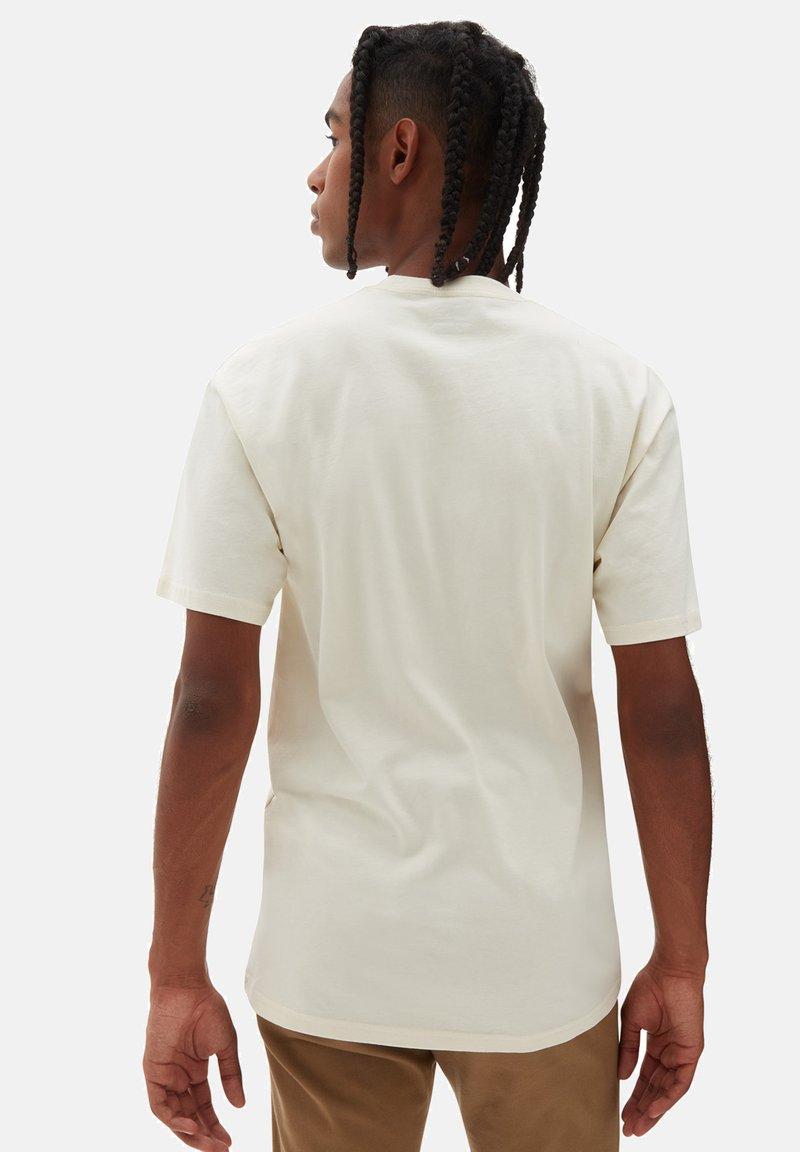 Vans - Print T-shirt - mottled beige