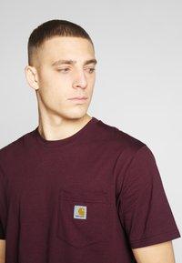 Carhartt WIP - Basic T-shirt - shiraz - 4