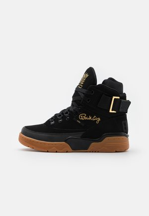 33 WINTER X NAUGHTY BY NATURE - Zapatillas altas - black/gold