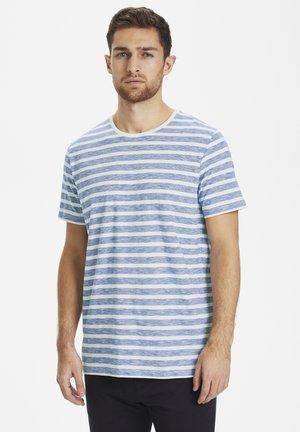 MAJERMANE MINI STRIPE - T-shirt print - mediterranien blue