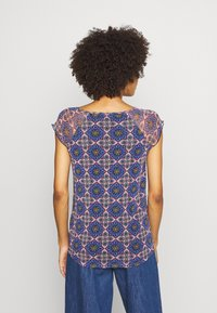 comma casual identity - KURZARM - Blouse - multi-coloured - 2