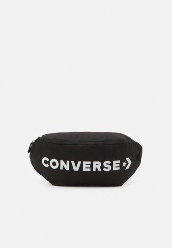 WORDMARK CROSS BODY UNISEX - Bum bag - black