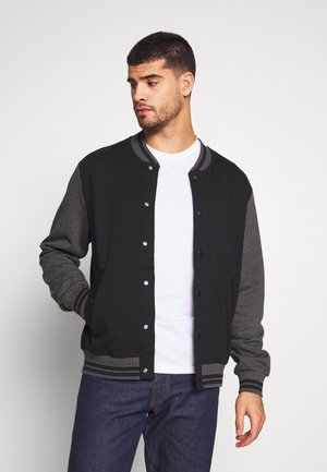 CARDI  - veste en sweat zippée - black
