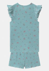 Cotton On - EMMA FLUTTER SHORT SLEEVE - Pyžamová sada - ether - 1
