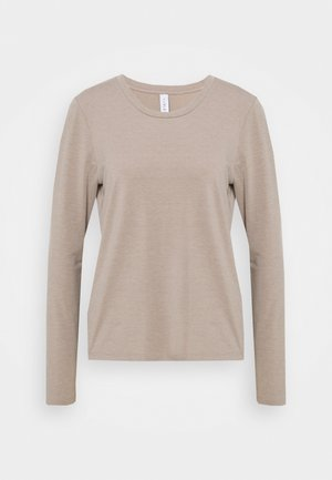 DEANE - Long sleeved top - driftwood grey