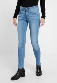 G-Star - LYNN MID SUPER SKINNY  - Jeans Skinny Fit - sun faded blue - 0