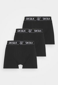 SIKSILK - 3 PACK - Pants - black - 3