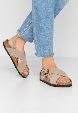 TULUM - Sandals - taupe
