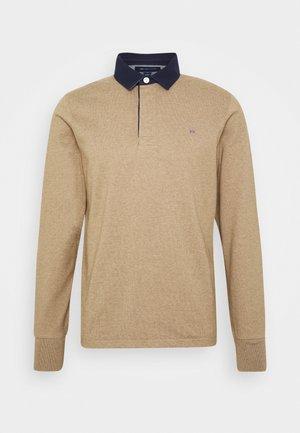THE ORIGINAL HEAVY RUGGER - Polo shirt - sand melange