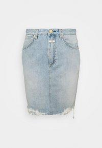 CLOSED - SHEMMETT - Mini skirt - mid blue - 0