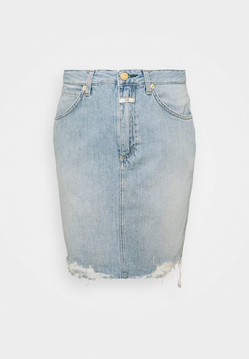 CLOSED - SHEMMETT - Mini skirt - mid blue